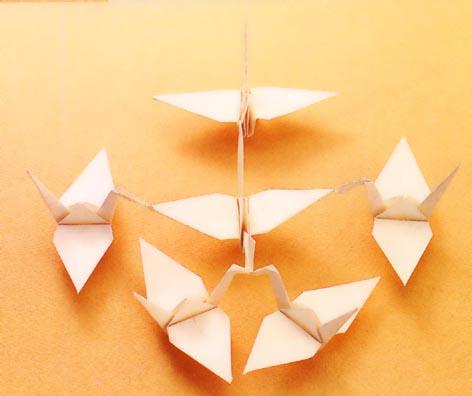 簡単 折り紙 折り紙連鶴折り方 : matome.naver.jp