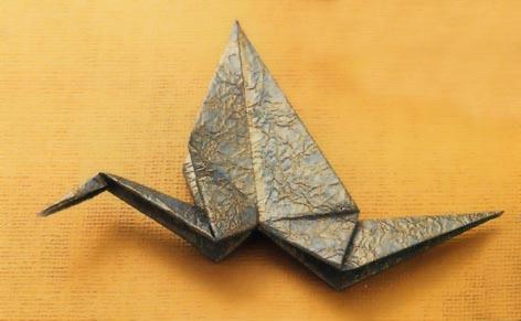 ハート 折り紙:折り紙 折り方 鶴-matome.naver.jp
