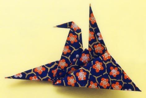 簡単 折り紙 : 鶴の折り方 折り紙 : matome.naver.jp