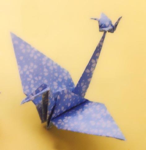 クリスマス 折り紙:鶴 折り紙-matome.naver.jp